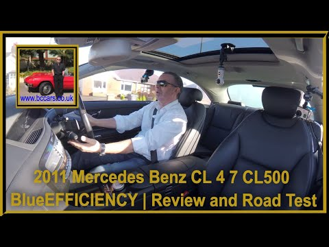 Review and Virtual Video Road Test In Our 2011 Mercedes Benz CL 4 7 CL500 BlueEFFICIENCY