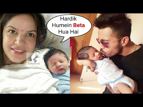 Hardik Pandya Blessed With Baby Boy With Wife Natasa Stankovic Youtube