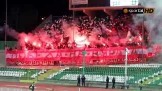 CSKA Sofia Ultras 28.9.2014 Stara Zagora