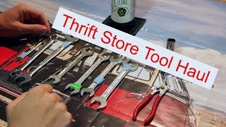 Thrift Store Tool Haul!! With German, Indian and USA made tools...