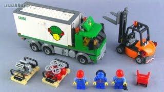 LEGO City Cargo Truck 60020 set review!