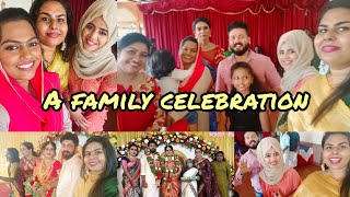 HARINI CHECHI'S WEDDING PART 2 celebrities with our family ❤#BASHEERBASHI #SUHANA #MASHURA