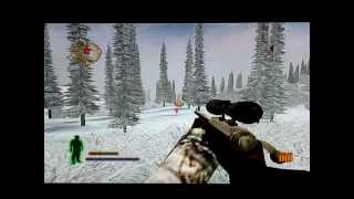 Cabela's Big Game Hunter 2005: Attacked by a polar bear