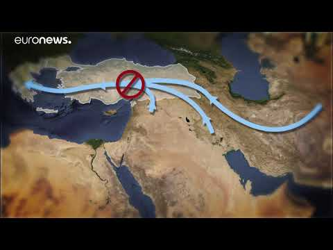 refugees dead in Mediterranean Sea in 2018   میزان مرگ پناهجویان در دریای مدیترانه در سال ٢٠١٨