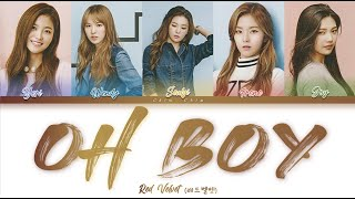 """Red Velvet (레드벨벳) - """"Oh Boy"""" (Color Coded Han