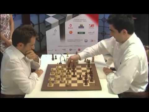 Levon Aronian vs Kramnik - Final Armageddon Chess Blitz Game