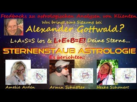 Alexander Gottwald Astrologische Analyse Horoskop Feedbacks Von Klienten Sternenstaubastrologie