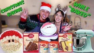 Baking A Christmas Cake While &quotBAKED&quot  The Baked Series