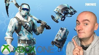 FORTNITE - unboxing pack froid eternel xbox one