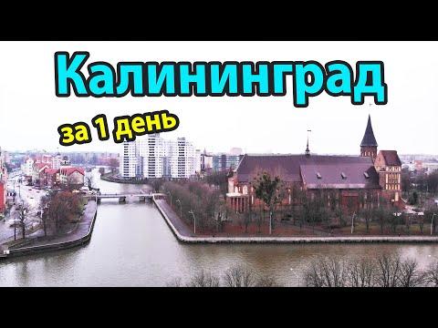 Калининград - куда пойти и что посмотреть за 1 день?