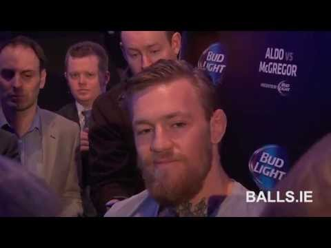 Conor McGregor On Dealing With Ireland UK Confusion