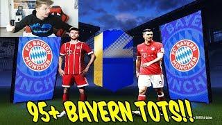 Wir ziehen den nächsten 95+ BAYERN TOTS & 3 TOTS! 😳🤑 Fifa 18 Pack Opening Ultimate Team