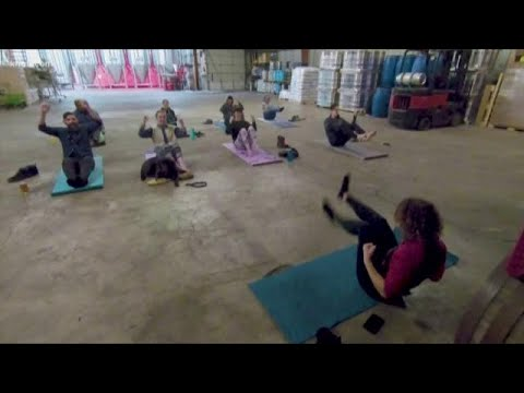 Craig Stevens - Rage Yoga Involves Swearing and Booze Breaks