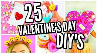 25 DIY Valentine's Day Gift Ideas, Room Decor, & Treats! 2017