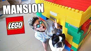 CREAMOS una MANSION DE LEGO para MI PERRO!! *REGALO DE CUMPLEAÑOS* [Logan G]