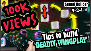 TIPS To Build An UNSTOPPABLE WINGPLAY | SQUAD BUILDER | Pes2021 | mr.tomboy