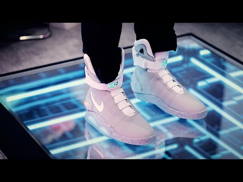 Nike's limited edition self-lacing 'Back to the Future' shoes