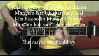 The Overtunes - Mungkin (Akustik Gitar + Lirik Karaoke)