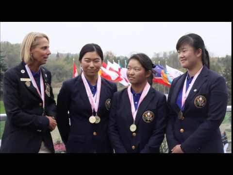 Team USA Interview - World Junior Girls - Final Round