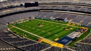 From Giants to Jets: Morphing MetLife Stadium