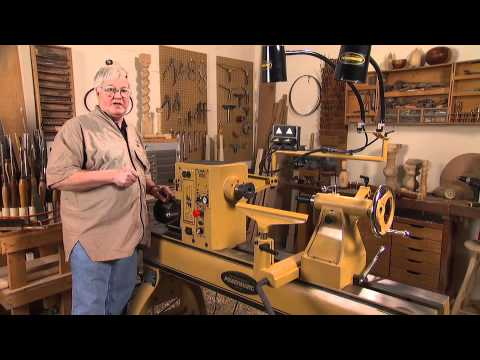 The Powermatic 4224b Lathe Presented By Woodcraft Youtube