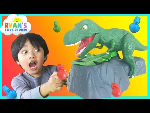 Dinosaur Toy For Kids Dino Meal With Egg Surprise