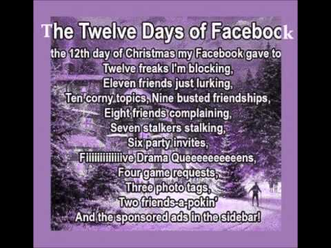 12 days of facebook christmas