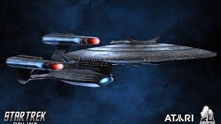 "STAR TREK ONLINE HD ""Galaxy Dreadnought Reboot"" (2014) 1080p"