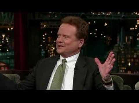 Senator Jim Webb on Letterman