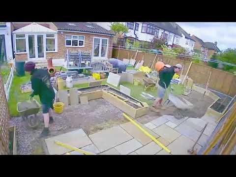 Garden Build - 4 Days in 2 Minutes (Garden Landscape Time-Lapse)