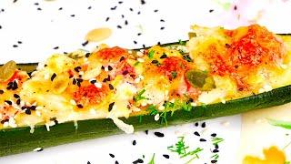Потрясающий  рецепт фаршированных цуккини и кабачков