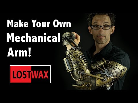 How to make this sweet steampunk cyborg arm cosplay with foam and hot glue! Fidget spinner fail