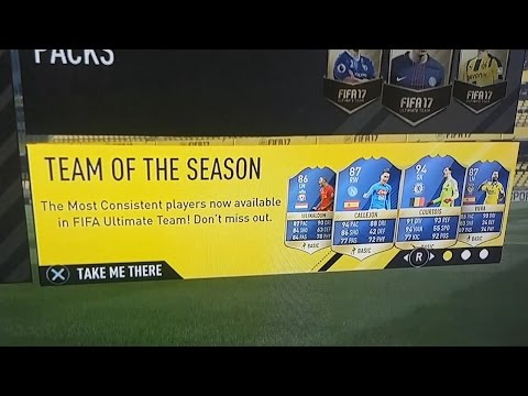 FIFA 17 TEAM OF THE SEASON LEAKED! *OFFICIAL VIDEO*