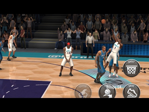 INSANE 97 OVR CLUTCH CHAUNCEY BILLUPS GAMEPLAY!!! NBA Live Mobile