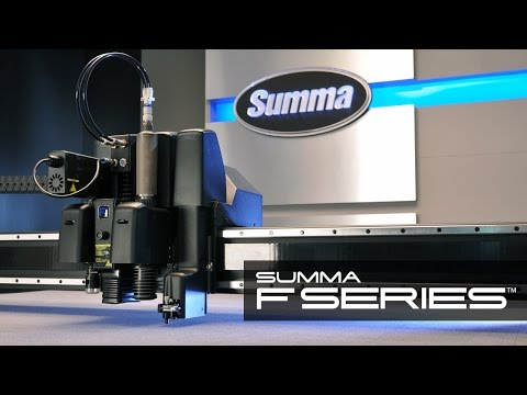 Summa F Series Pro Flatbed Digital Finishing System