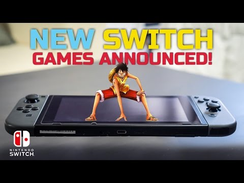 Three New Nintendo Switch Games Announced - One Piece Unlimited World Red Deluxe Edition & More!