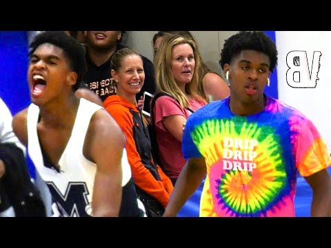 Josh Christopher SHORTS Get BASKETBALL MOM'S Attention 👀Jersey Gets RIPPED! 2 Games at THE LEAGUE
