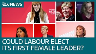 Could Labour elect its first female leader? | ITV News