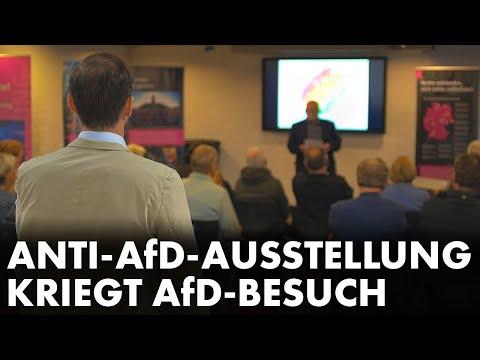 Anti-AfD-Ausstellung kriegt AfD-Besuch
