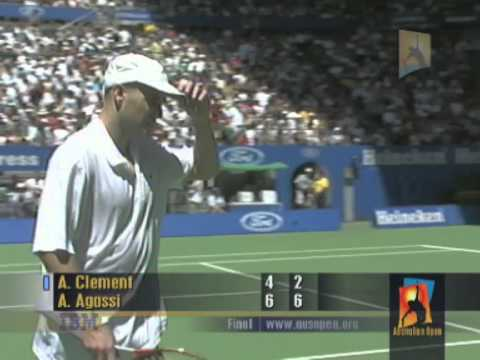 Agassi v Clément: 2001 Australian Open Men's Final Highlights