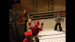 WWE - Lego - John Cena vs. The Miz
