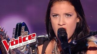 Beyonce – Halo   Lena Woods   The Voice France 2016   Blind Audition