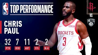 Chris Paul Drops A Near Triple Double In Brooklyn | November 2, 2018