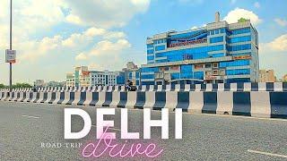 Delhi - Road Trip - Rohini to Janakpuri through Pitampura, Peeragarhi and paschim vihar - INDIA