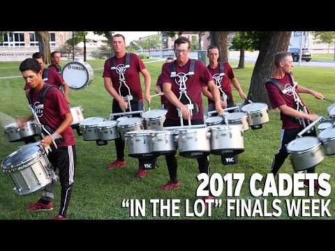 DCI 2017: CADETS In the Lot FINALS WEEK