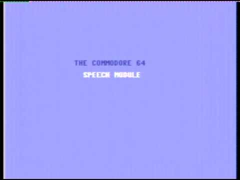 Magic Voice Speech Synthesizer Demo on the Commodore 64 C64