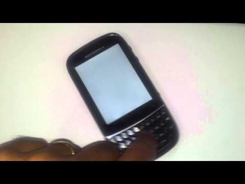 Defeito Motorola XT 317 Fire (i)