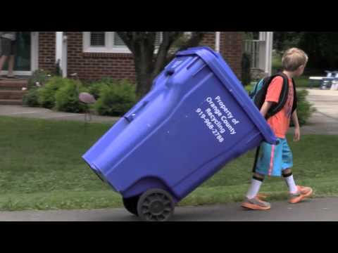 Position Your Solid Waste And Recycling Carts Properly