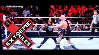 WWE Extreme Rules 2015 Last Man Standing Match Roman Reigns vs. Big Show FULL MATCH REVIEW