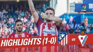Resumen de Atlético de Madrid vs SD Eibar (1-0)